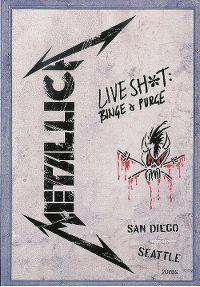 Cover Metallica - Live Shit: Binge & Purge [DVD]